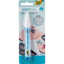 folia Klebestift 2in1, 10 g, Stiftform, 2 - 5 mm