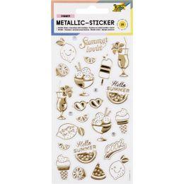 folia Metallic-Sticker Summer Loving, Blattformat: 95x175 mm