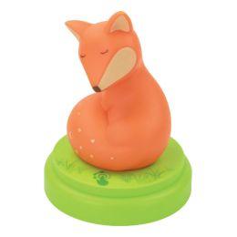 ANSMANN Nachtlicht Fuchs, grün / orange