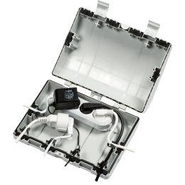 BACHMANN Kabelbox SAFEBOX, 6 x Leitungseinführungen