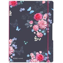 herlitz Notizheft my.book flex Ladylike Flowers, A4