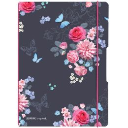 herlitz Notizheft my.book flex Ladylike Flowers, A4
