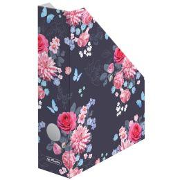 herlitz Wellpappe-Stehsammler Ladylike Flowers, DIN A4