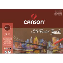 CANSON Zeichenpapier-Block Mi-Teintes Touch, 240 x 320 mm