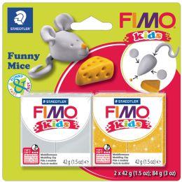FIMO kids Modellier-Set Funny Mice