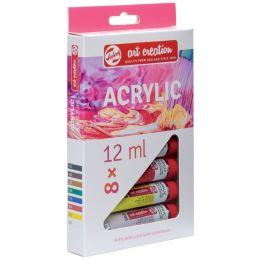ROYAL TALENS Acrylfarbe ArtCreation, 12 ml, 8er-Set
