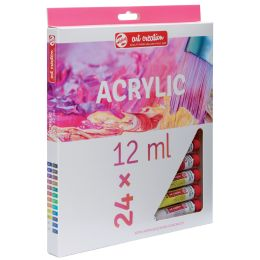 ROYAL TALENS Acrylfarbe ArtCreation, 12 ml, 24er-Set