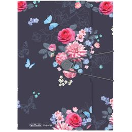 herlitz Sammelmappe Ladylike Flowers, A4, PP-Folie