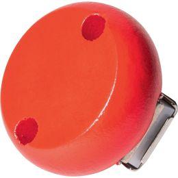 KNORR prandell Holzclip, Durchmesser: 30 mm, rot