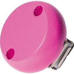 KNORR prandell Holzclip, Durchmesser: 30 mm, pink