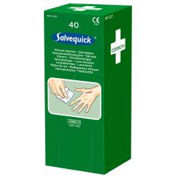 CEDERROTH Salvequick Wundreinigungstücher, steril, 40er Pack