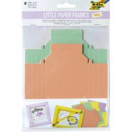 folia Bilderrahmenrohlinge Little Paper Frames PASTELL