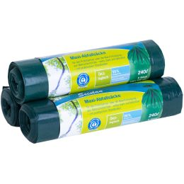 Secolan Maxi-Abfallsack, grün, 240 Liter