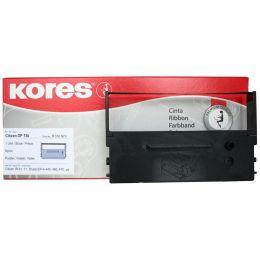 Kores Farbband für CITIZEN DP600, Nylon, schwarz/rot