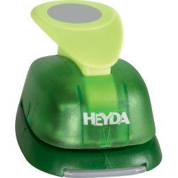 HEYDA Motivstanzer XXL Kreis, Farbe: grün