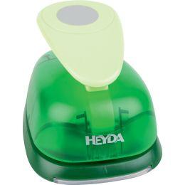 HEYDA Motivstanzer XXXL Kreis, Farbe: grün