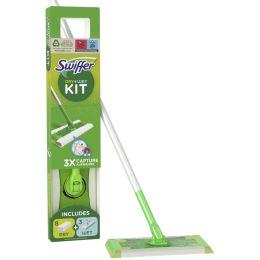 Swiffer Starter-Set Bodenwischer, Trocken-/Nass-Wischtücher