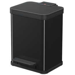 Hailo Tret-Abfalltrenner Öko duo plus M, 2x9 L, schwarz