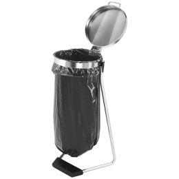 Hailo Müllsackständer ProfiLine MSS, 120 Liter, silber