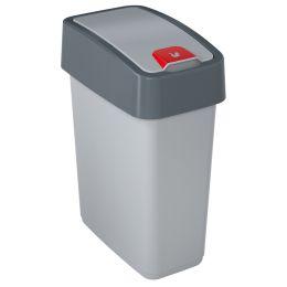 keeeper Abfalleimer magne, 10 Liter, anthrazit / grün