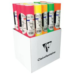 Clairefontaine Geschenkpapier Tiny Rolls Neon