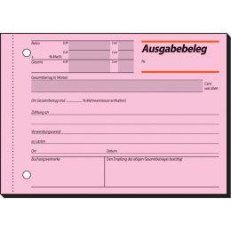 sigel Formularbuch Buchungsbeleg, A6 quer, 50 Blatt