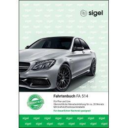 sigel Formularbuch Fahrtenbuch Pkw und Lkw, A5, 32 Blatt