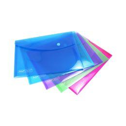 RAPESCO Dokumententasche, DIN A5, PP, farbig sortiert