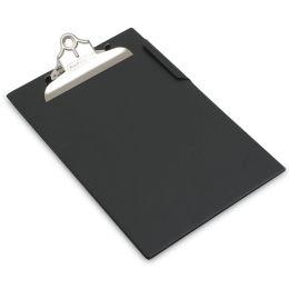 RAPESCO Klemmbrett, DIN A4, PVC-Folienüberzug, schwarz