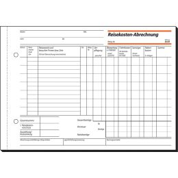 sigel Formularbuch Reisekostenabrechnung, A5, 50 Blatt