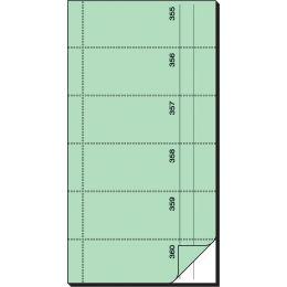 sigel Formularbuch Bonbuch, 105 x 200 mm, hellgrün
