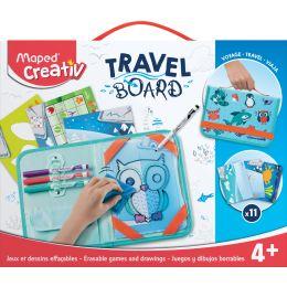 Maped Creativ Reisemalset TRAVEL BOARD, 19-teilig