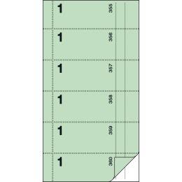 sigel Formularbuch Bonbuch, 105 x 200 mm, gelb