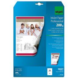 sigel Inkjet-Papier, DIN A4, 105 g/qm, hochweiß, matt