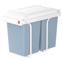 Hailo Einbau-Mülltrennsystem Multi-Box duo L, 2 x 14 Liter