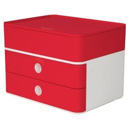 HAN Schubladenbox SMART-BOX plus ALLISON, cherry red