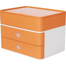 HAN Schubladenbox SMART-BOX plus ALLISON, apricot orange