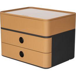 HAN Schubladenbox SMART-BOX plus ALLISON, caramel brown