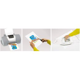 sigel T-Shirt Inkjet-Transfer-Folien, für helle Textilien