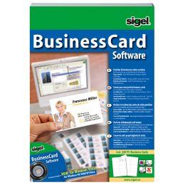 sigel BusinessCard Software Deutsch, für Visitenkarten
