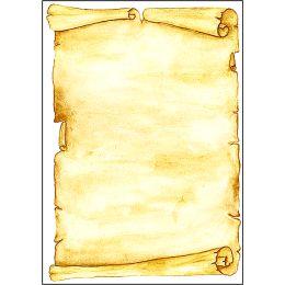 sigel Design-Papier, DIN A4, 90 g/qm, Motiv Pergament