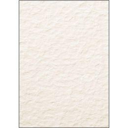 sigel Struktur-Papier, A4, 200 g/qm, Edelkarton, Perga grau