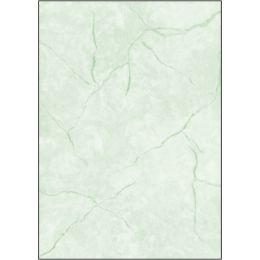 sigel Struktur-Papier, A4, 90 g/qm, Feinpapier, Granit grün