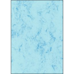 sigel Marmor-Papier, A4, 200 g/qm, Edelkarton, grau