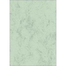 sigel Marmor-Papier, A4, 200 g/qm, Edelkarton, pastellgrün