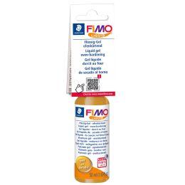 FIMO Deko-Gel Liquid, schwarz, ofenhärtend, 50 ml