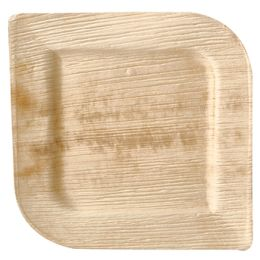 PAPSTAR Palmblatt-Teller pure, eckig, 150 x 150 mm, 25er