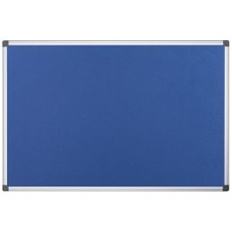 Bi-Office Filztafel Maya, 900 x 600 mm, blau