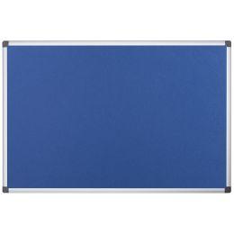 Bi-Office Filztafel Maya, 900 x 600 mm, blau