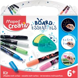 Maped Creativ BOARD ESSENTIALS Marker-Set, 7-teilig